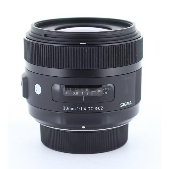 SIGMA ニコン(A)30mm F1.4DC HSM【中古】