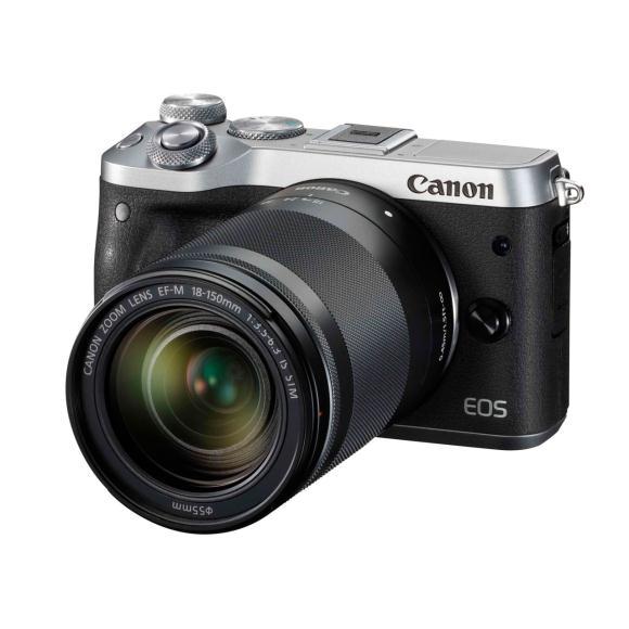 【新品】CANON EOS M6(18-150)KIT BK:【中古】