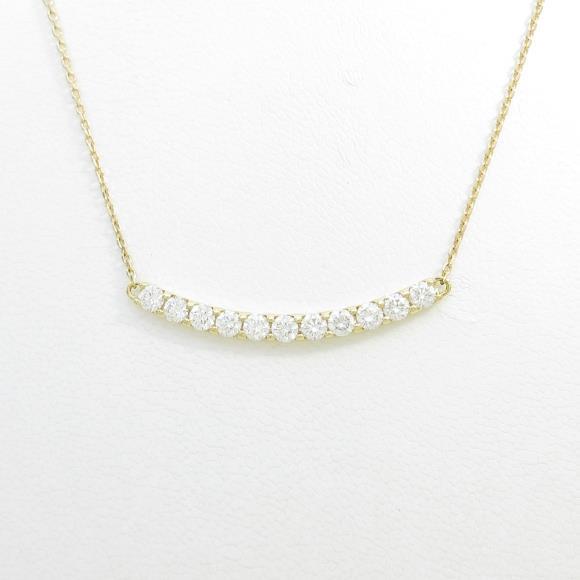 【新品】K18YG ダイヤモンドネックレス 1.001ct・E・SI1-2・VG-G【新品】