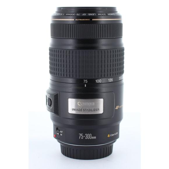 CANON EF75-300mm F4-5.6IS USM【中古】