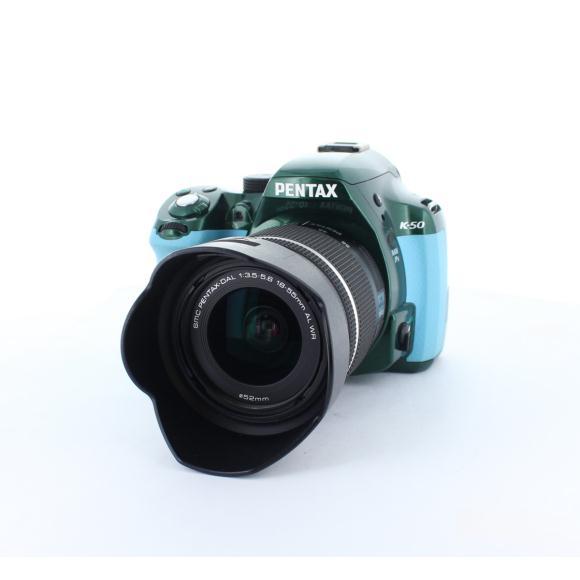 PENTAX K-50 DAL18-55WR KIT【中古】