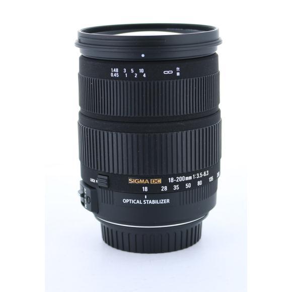 SIGMA EOS18-200mm F3.5-6.3DC OS【中古】