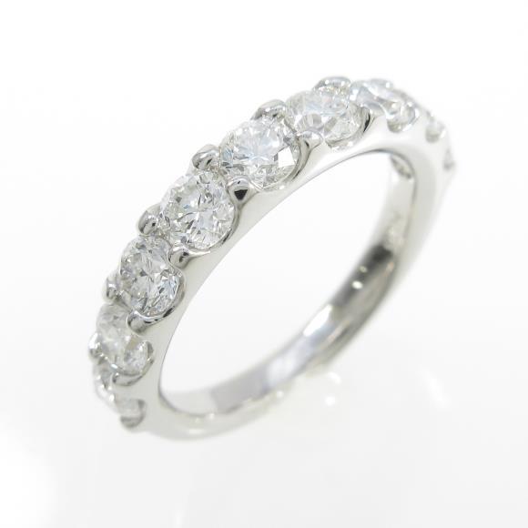 【新品】プラチナダイヤモンドリング 1.500ct・E-F・SI1-SI2・VG-G【新品】