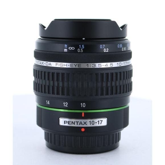 PENTAX DA10-17mm F3.5-4.5FISHEYE【中古】