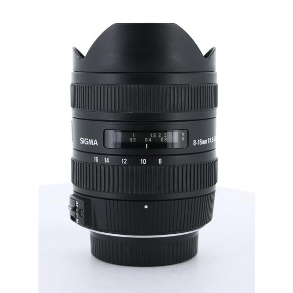 SIGMA ニコン8-16mm F4.5-5.6DC HSM【中古】