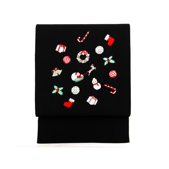 【新品】袋帯 クリスマス【新品】