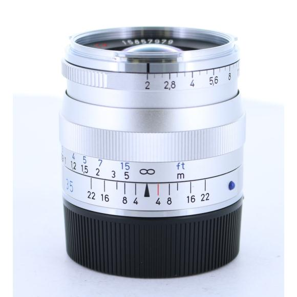 CARL ZEISS BIOGON35mm F2ZMシルバー【中古】