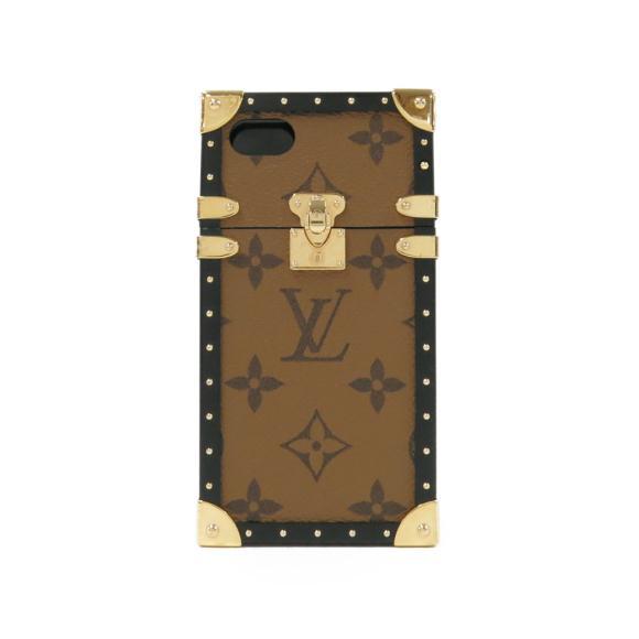 ルイヴィトン モノグラムリパース フォンケース M64484【中古】