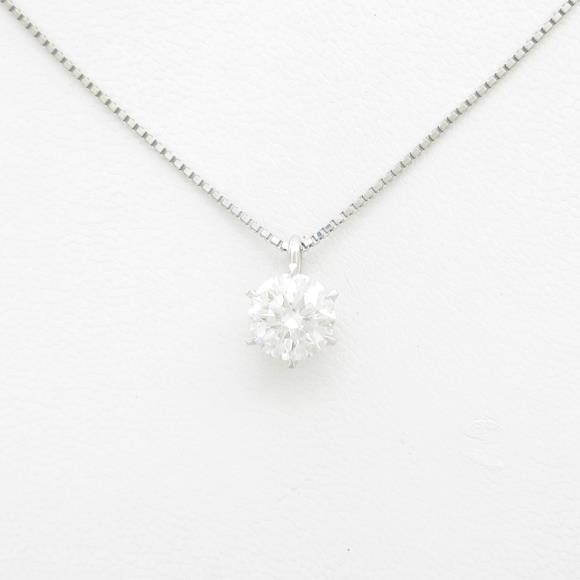 【リメイク】プラチナダイヤモンドネックレス 2.071ct・H・SI2・EXT【中古】