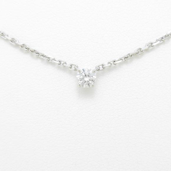 カルティエ ダイヤモンドネックレス 0.25ct・F・VVS2・EXT【中古】