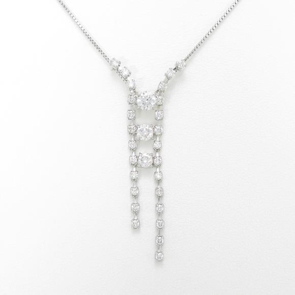 トリロジー ダイヤモンドネックレス【中古】
