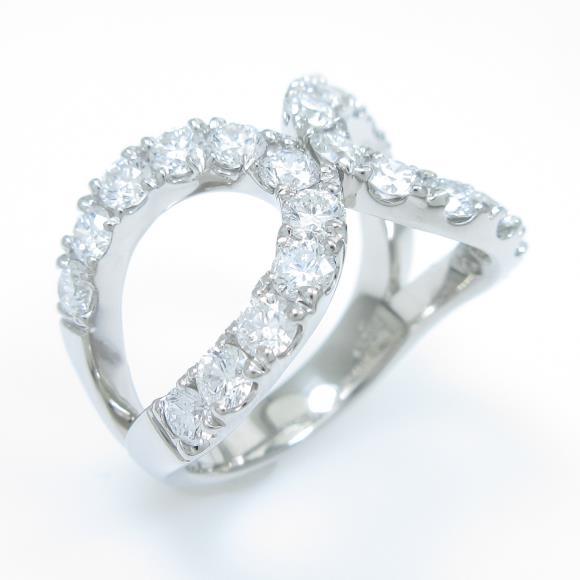 【新品】プラチナダイヤモンドリング 1.807ct・D-F・VS1-SI2・VG-G【新品】