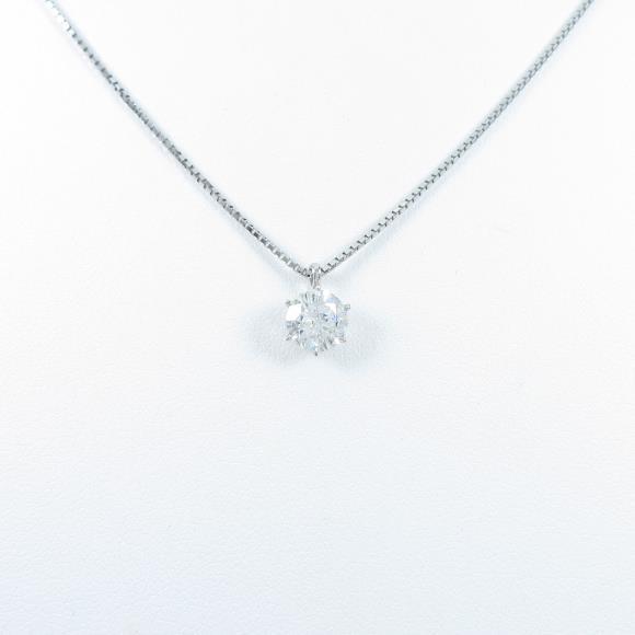 【新品】プラチナダイヤモンドネックレス 0.710ct・G・SI2・VG【新品】