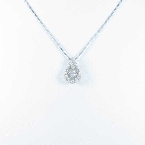 【新品】プラチナダイヤモンドネックレス 0.223ct・E・SI2・GOOD【新品】