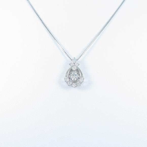 【新品】プラチナダイヤモンドネックレス 0.303ct・G・SI2・VG【新品】