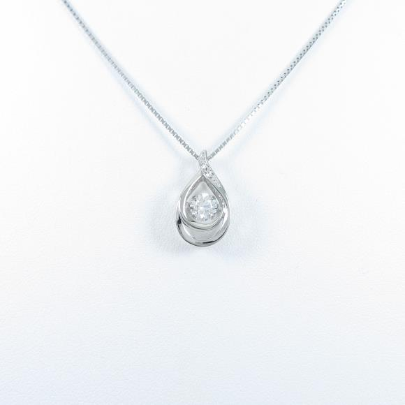 【新品】プラチナダイヤモンドネックレス 0.305ct・G・SI1・VG【新品】