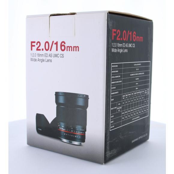 【未使用品】 16mm F2 マイクロフォーサーズ【中古】