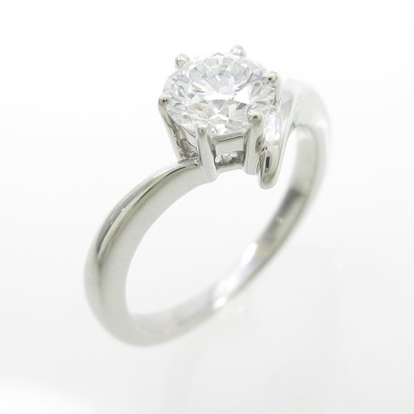 ミキモト ダイヤモンドリング 0.52ct・D・VVS1・3EXT【中古】