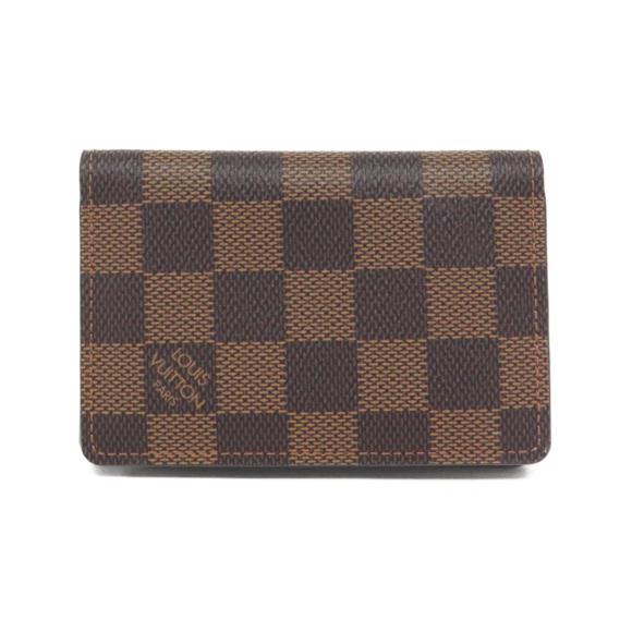 ルイヴィトン ダミエ カードケース N63145【中古】