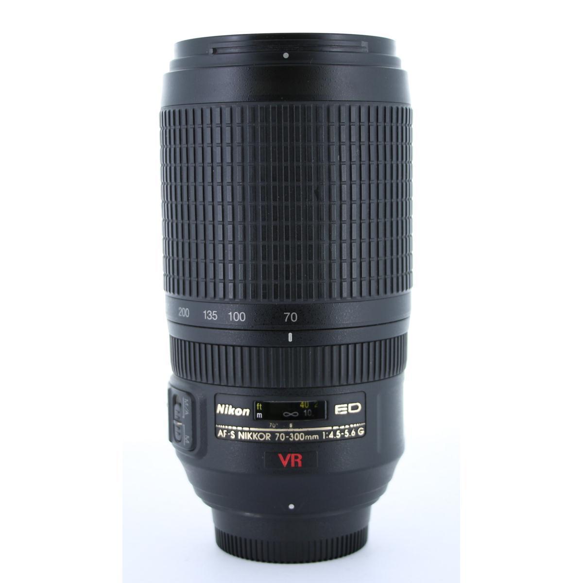 NIKON AF-S70-300mm F4.5-5.6G ED VR【中古】