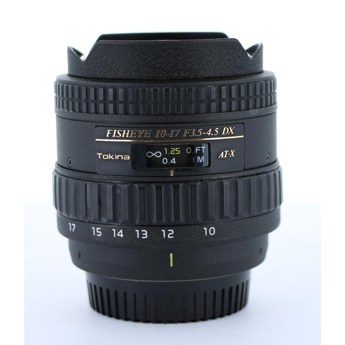 TOKINA ニコン10-17mm F3.5-4.5FISHEYE【中古】