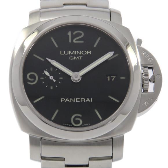 パネライ PAM00329 ルミノール1950 3DAYS GMTパワーリザーブ 自動巻【中古】
