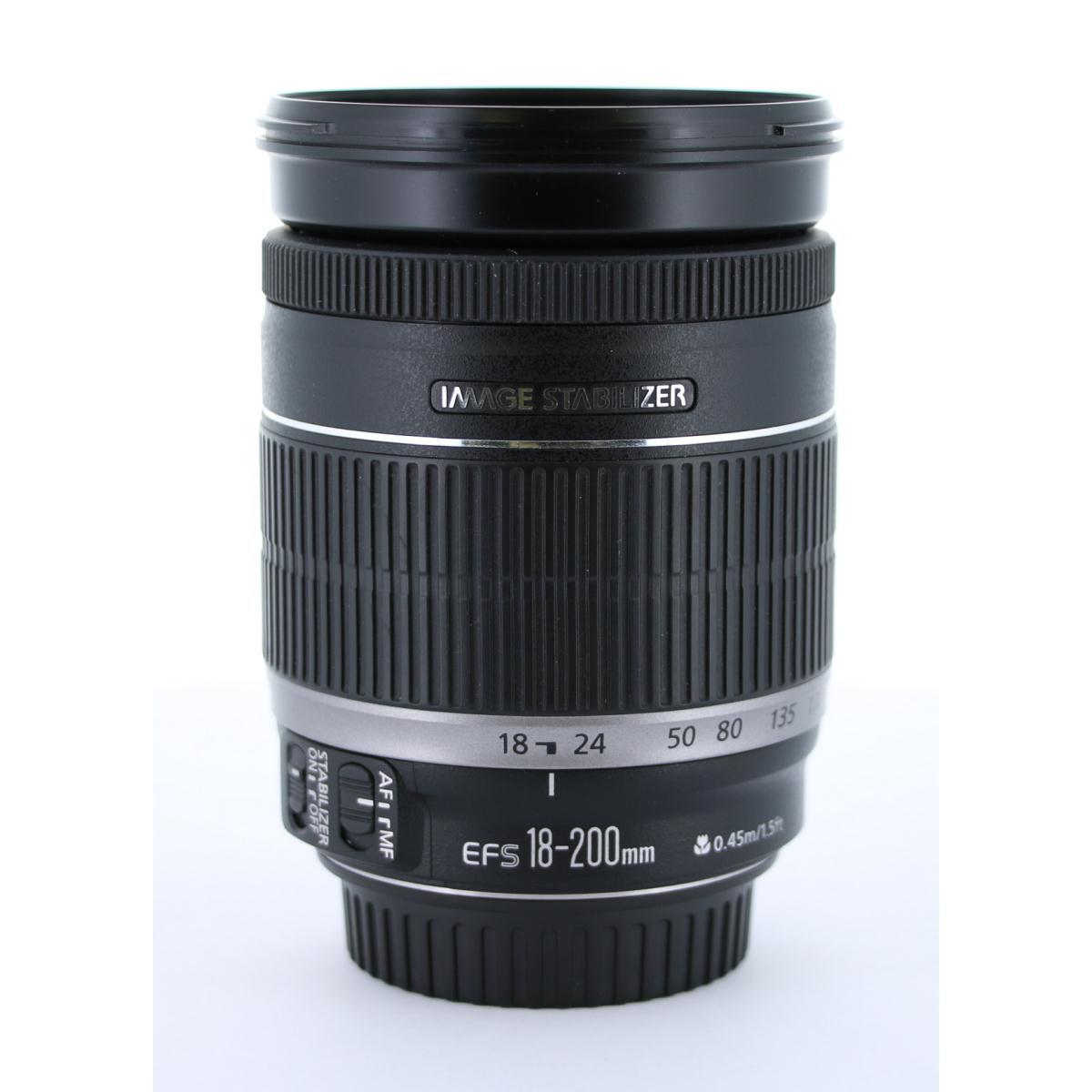 CANON EF-S18-200mm F3.5-5.6IS【中古】