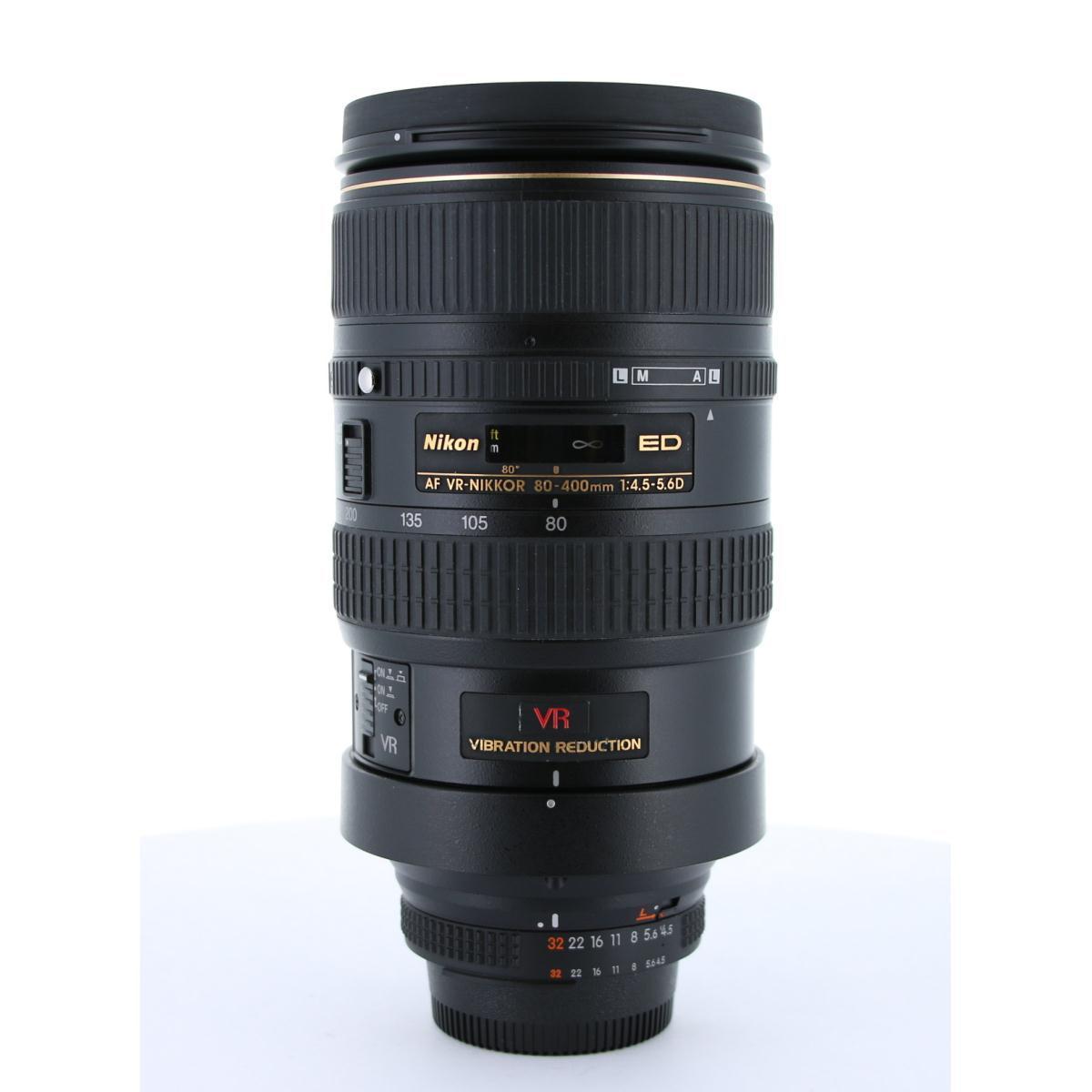 NIKON AF80-400mm F4.5-5.6D ED VR【中古】