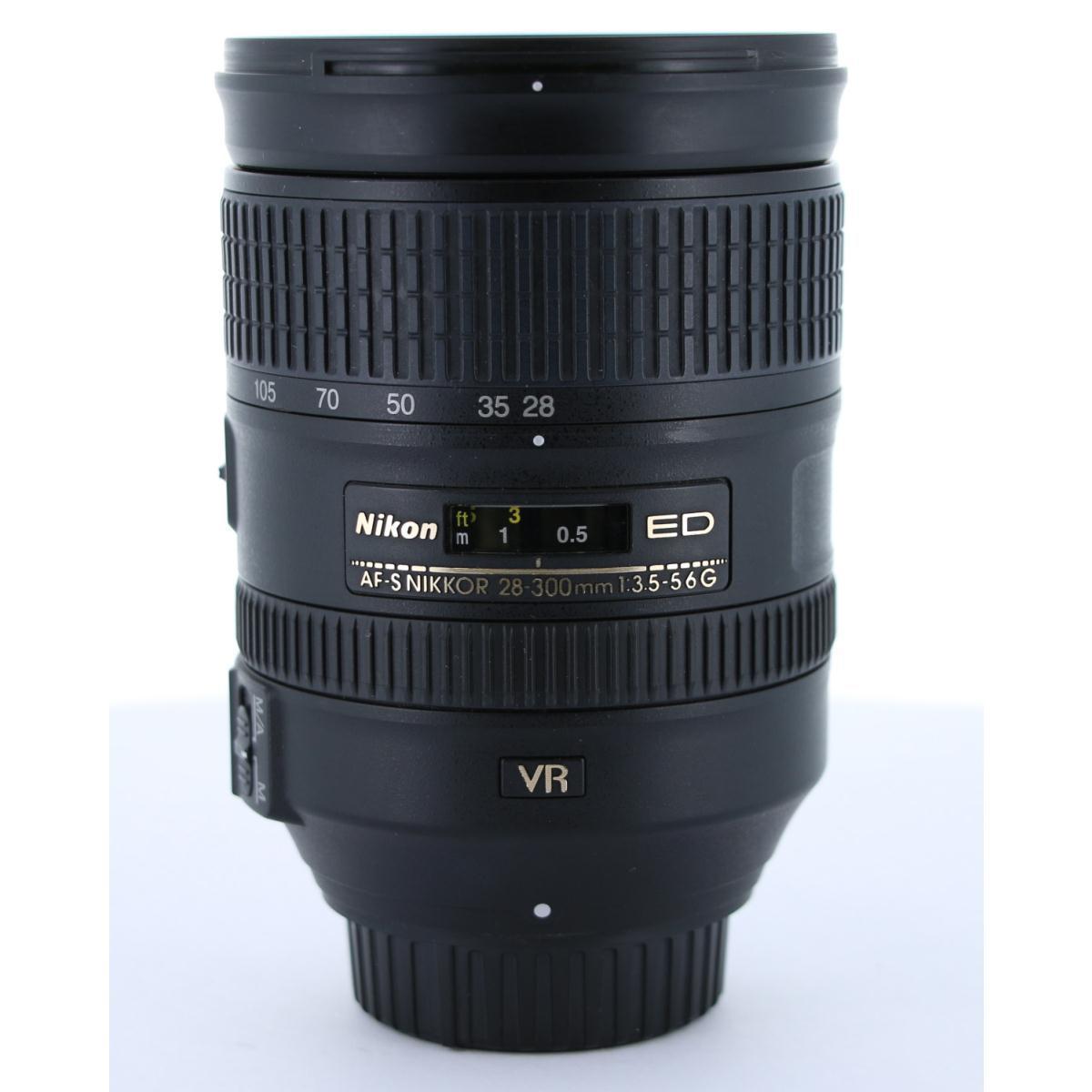 NIKON AF-S28-300mm F3.5-5.6G ED VR【中古】