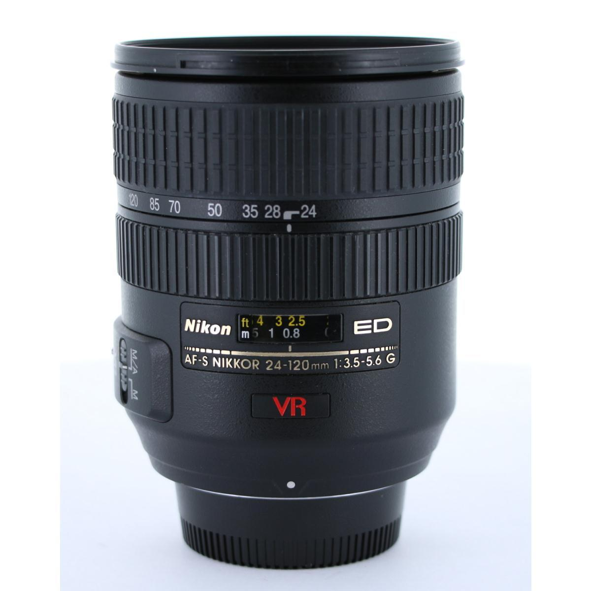 NIKON AF-S24-120mm F3.5-5.6G ED VR【中古】