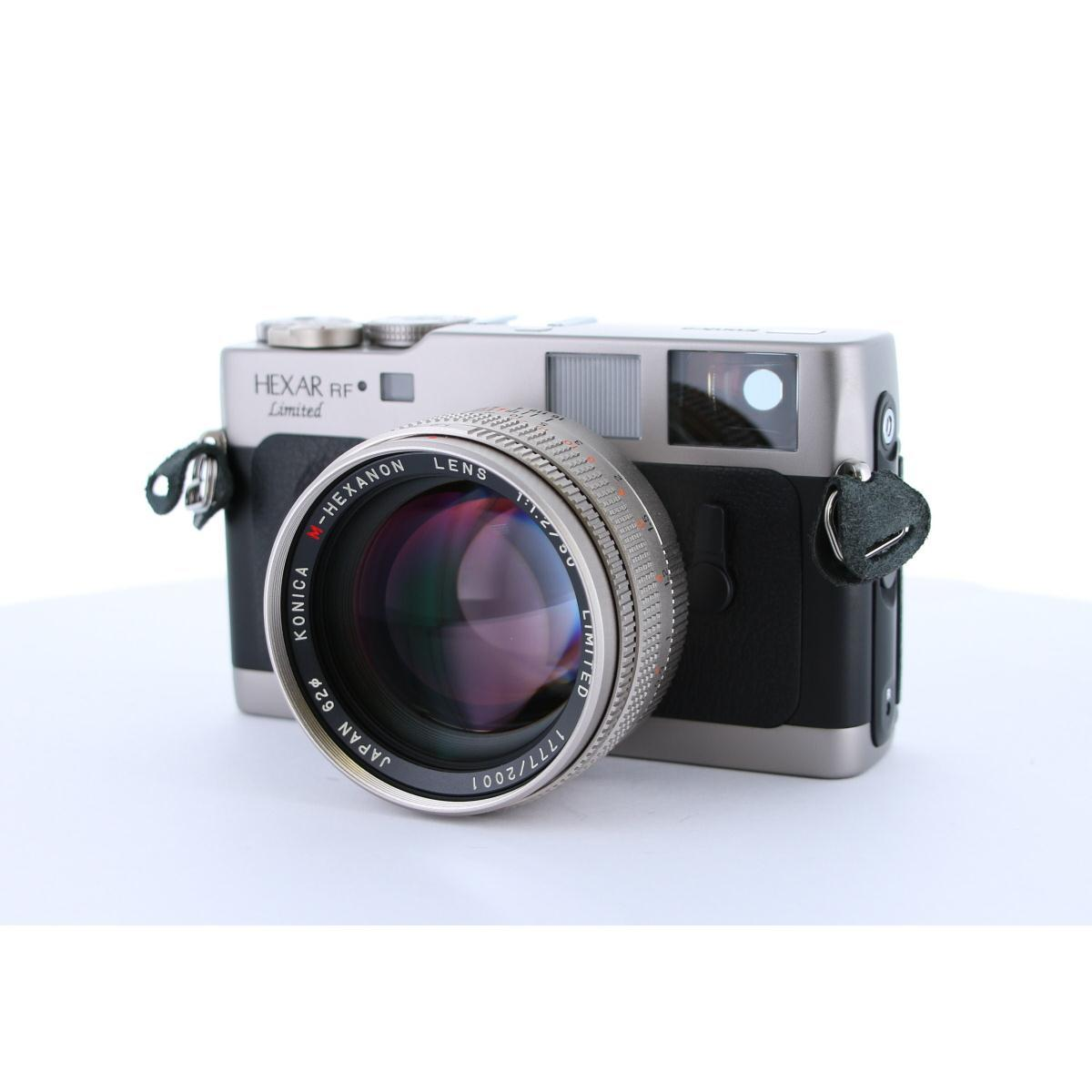 KONICA HEXAR RF LIMITED 50mm F1.2【中古】