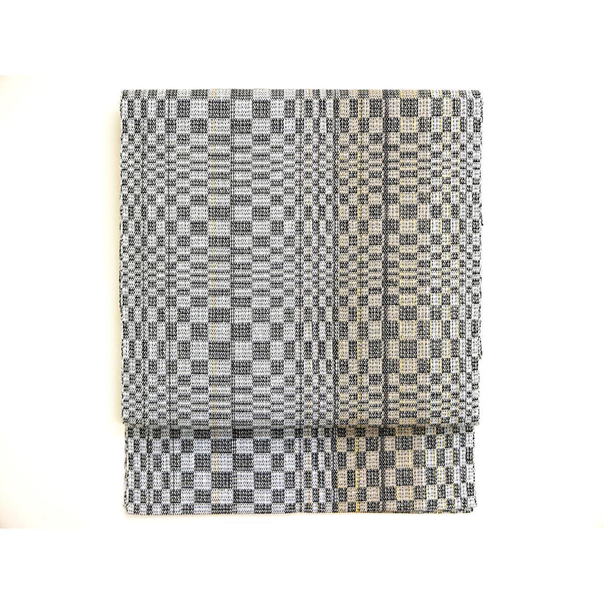 【未使用品】名古屋帯 和紙織【中古】