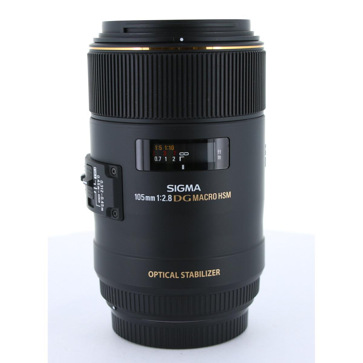 SIGMA EOS105mm F2.8EXDGOSMACRO【中古】