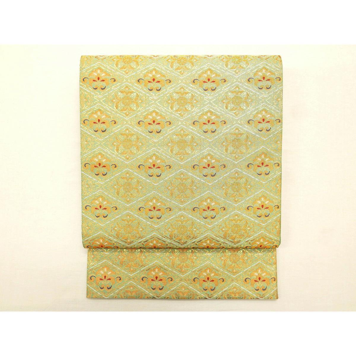 袋帯 となみ織物【中古】