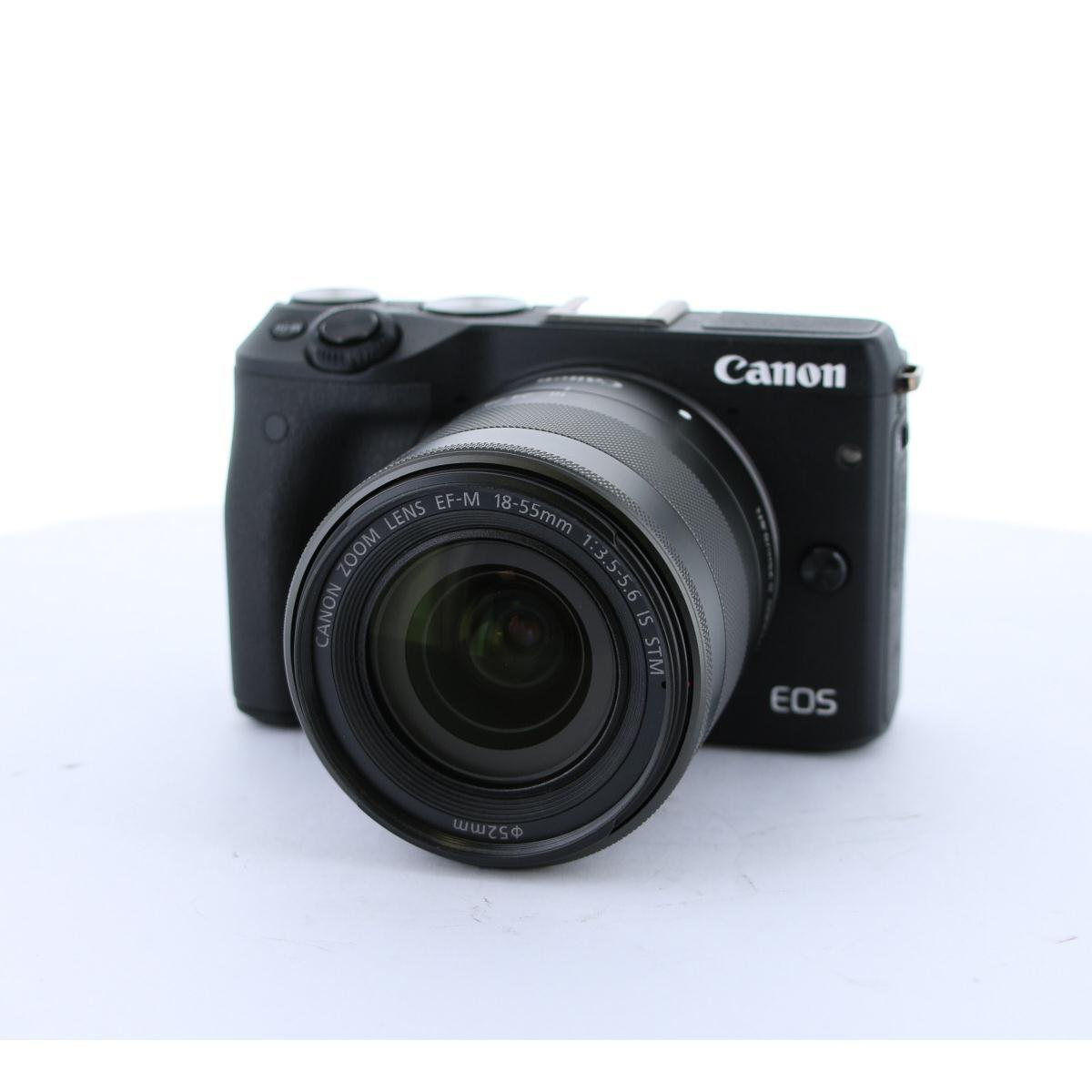 CANON EOS M3 18-55IS STM キット【中古】