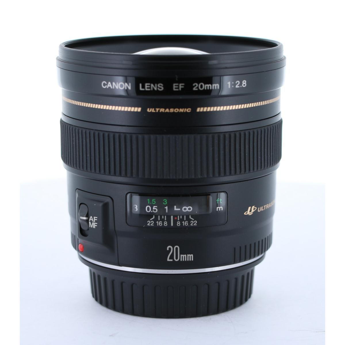 CANON EF20mm F2.8USM【中古】
