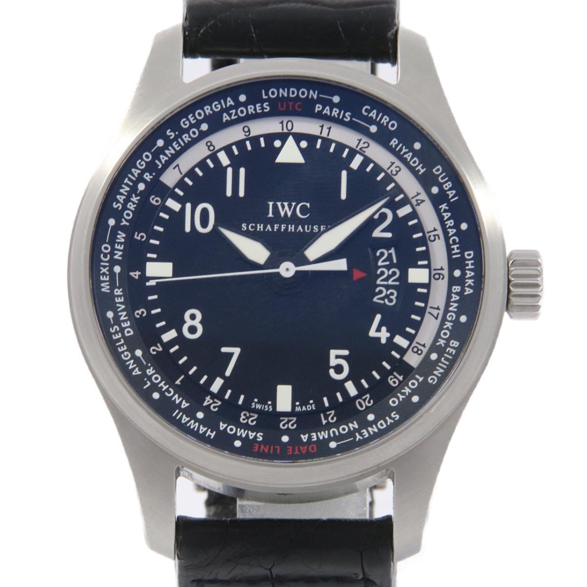IWC IW326201 パイロットウォッチワールドタイマ- 自動巻【中古】