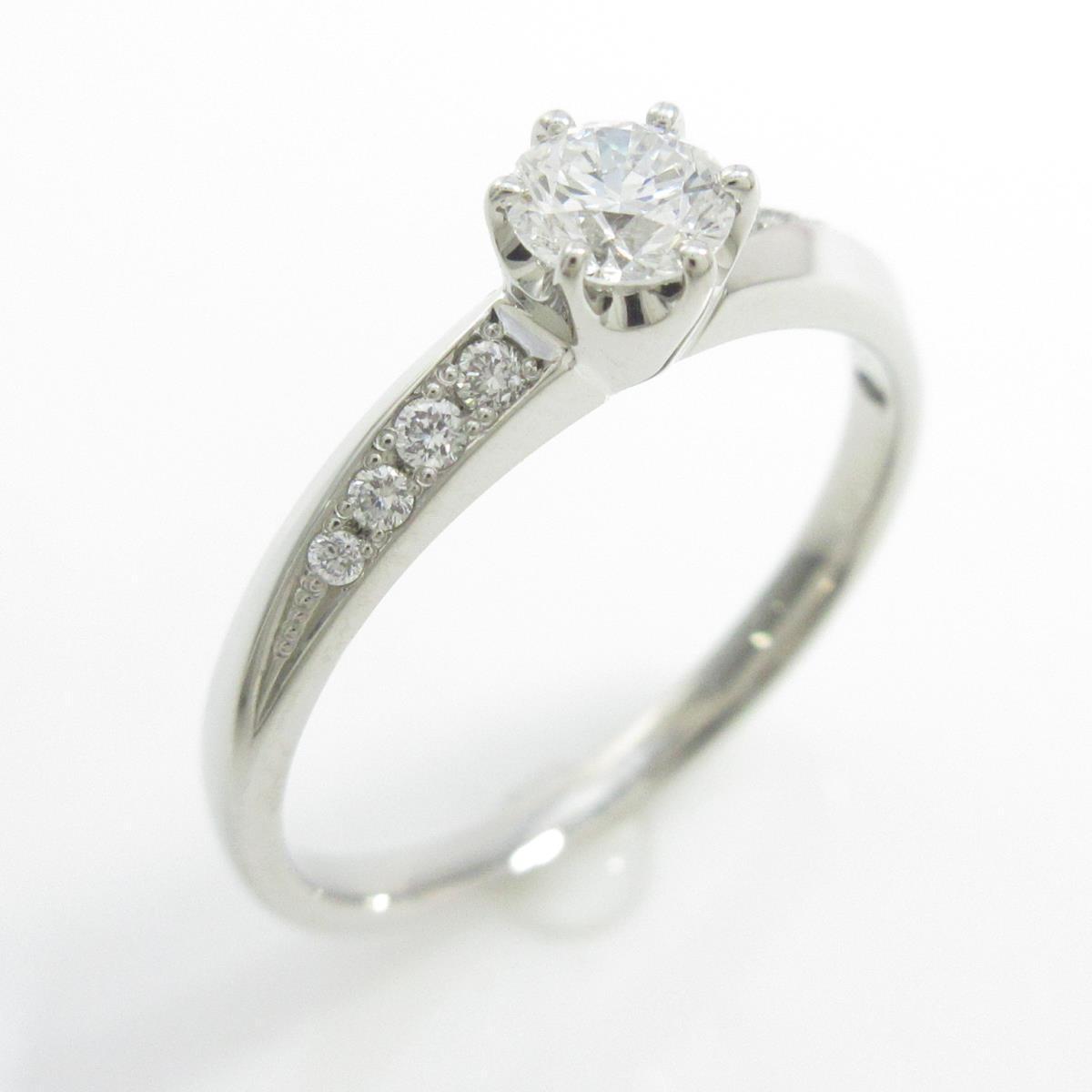 ヴァンドーム ダイヤモンドリング 0.259ct・D・VS1・3EXT【中古】