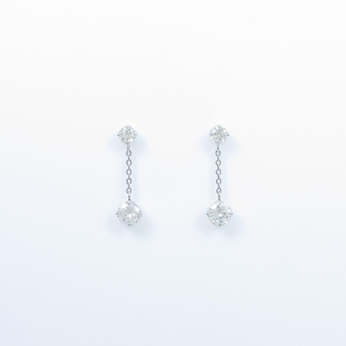 【新品】プラチナダイヤモンドピアス 0.255ct・0.253ct・G・SI2・GOOD【新品】