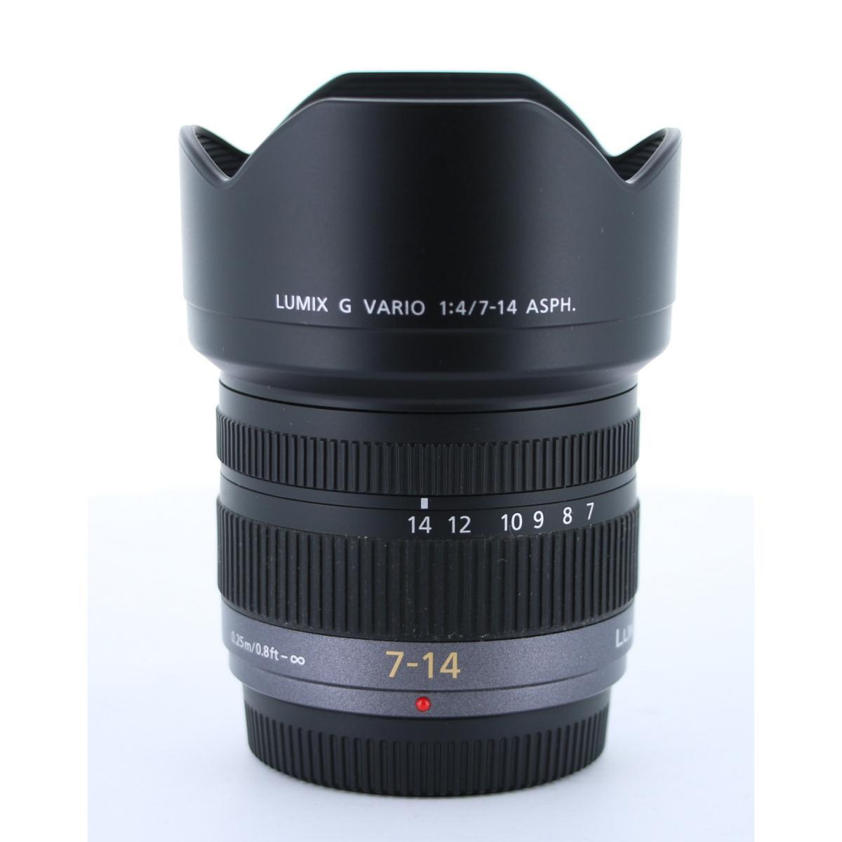 PANASONIC G VARIO7-14mm F4ASPH.【中古】