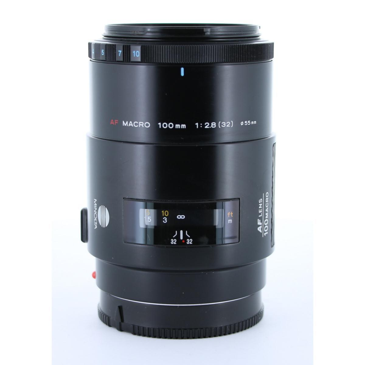 MINOLTA AF100mm F2.8MACRO【中古】