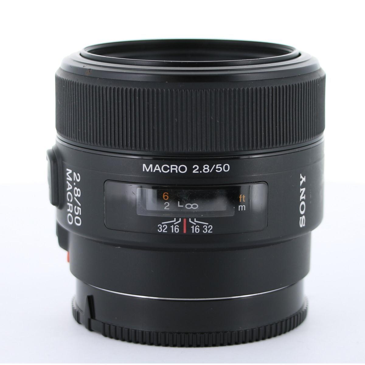 SONY 50mm F2.8MACRO(SAL50M28)【中古】