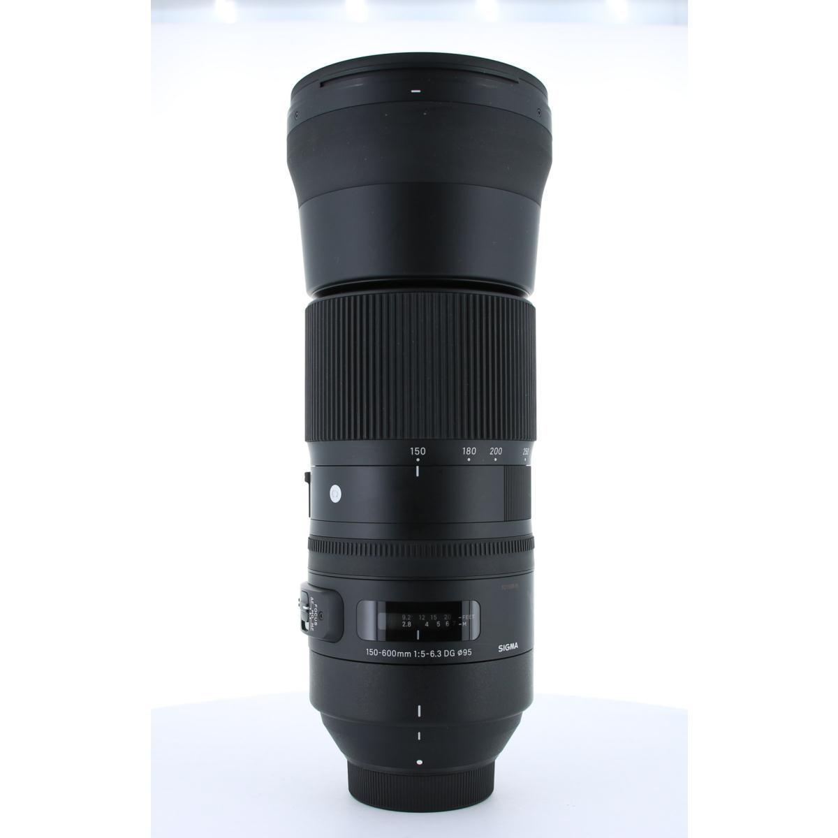 SIGMA ニコン(C)150-600mm F5-6.3DG OS【中古】