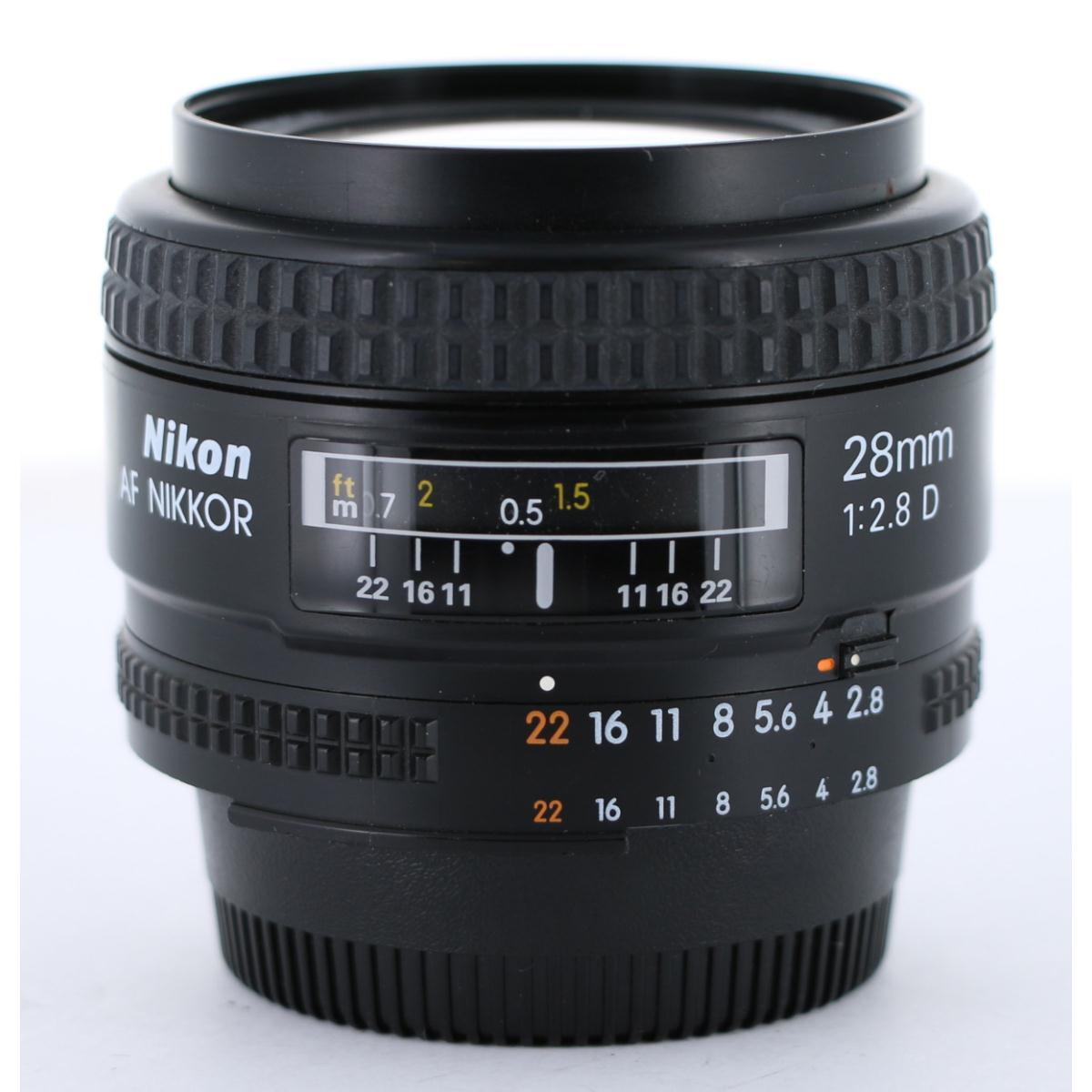 NIKON AF28mm F2.8D【中古】