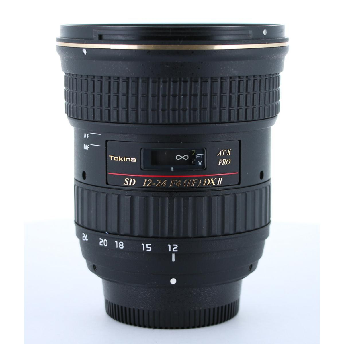 TOKINA ニコン12-24mm F4PRO DXII【中古】