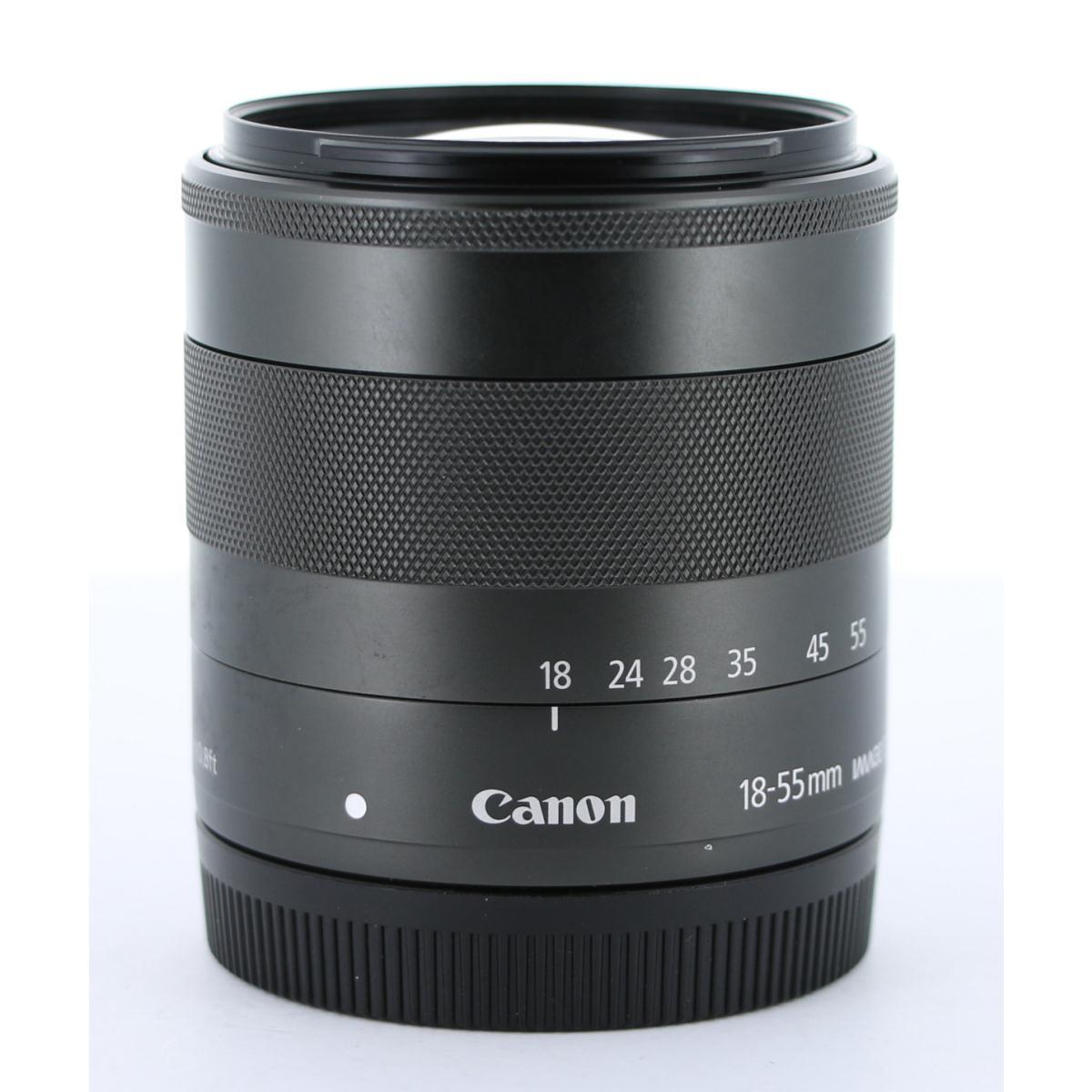 CANON EF-M18-55mm F3.5-5.6IS STM【中古】