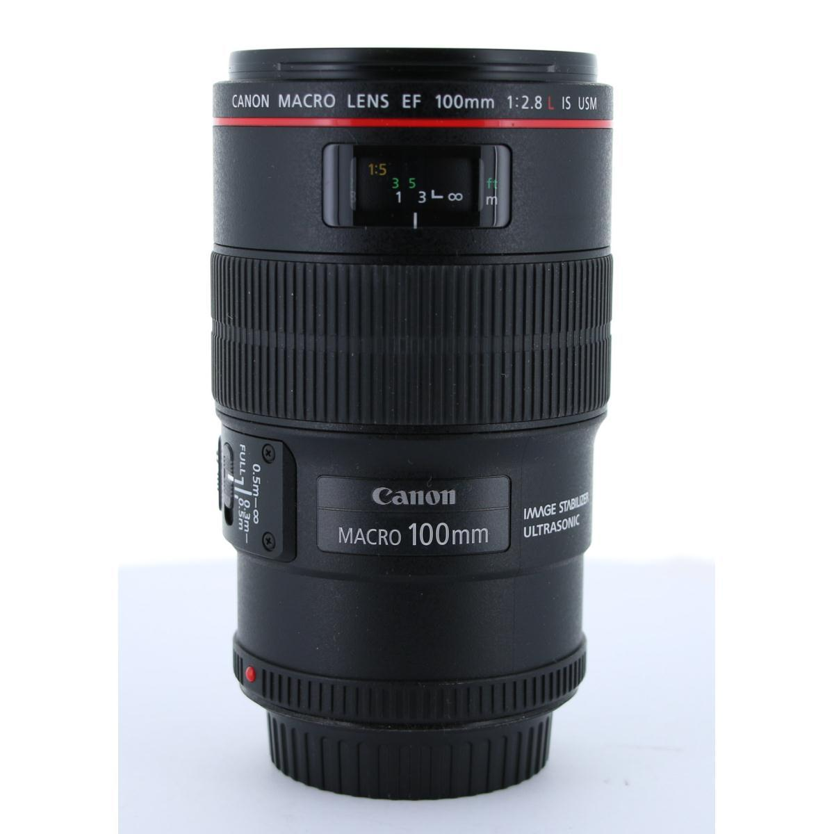 CANON EF100mm F2.8L MACRO IS【中古】