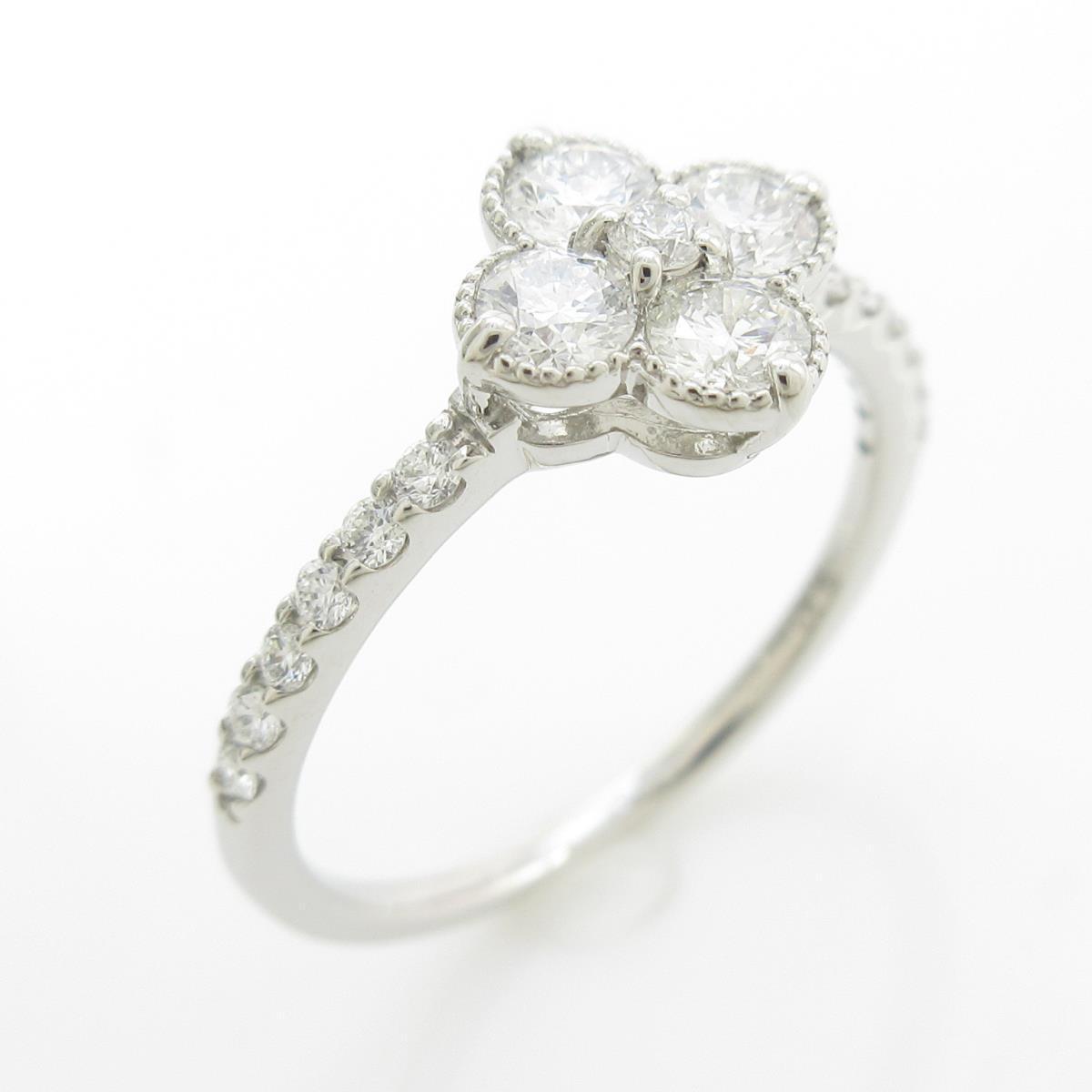 【新品】プラチナダイヤモンドリング 0.381ct・E-F・SI1-2・EXT-GOOD【新品】