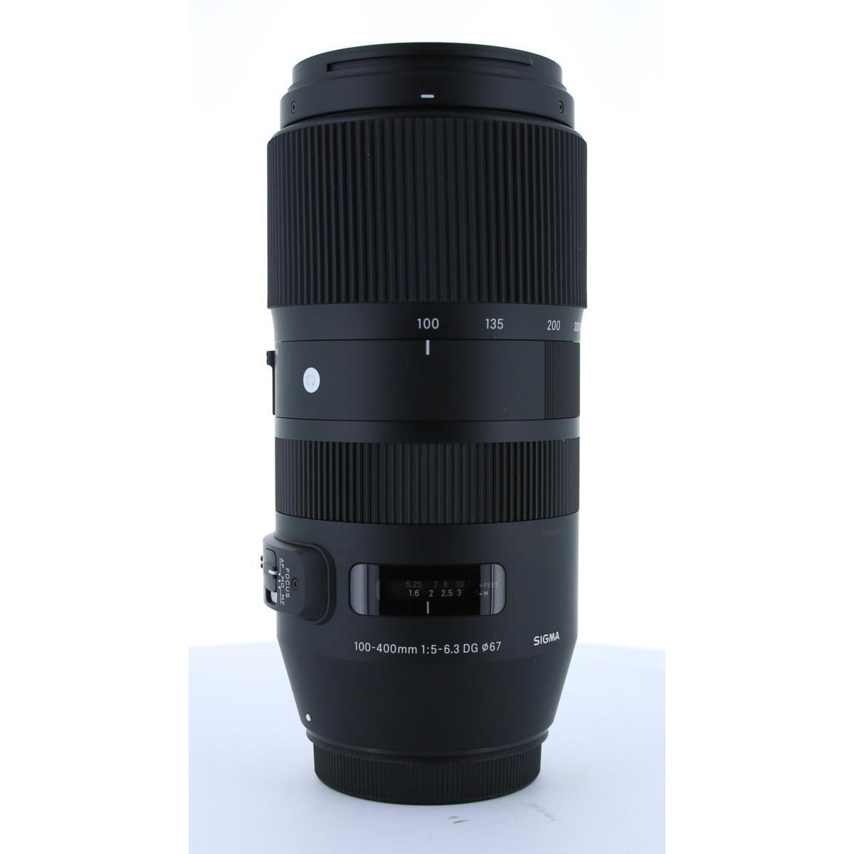 SIGMA EOS(C)100-400mm F5-6.3DG OS【中古】