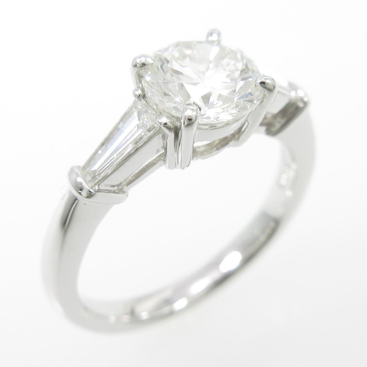 【リメイク】プラチナダイヤモンドリング 1.098ct・G・SI1・VG【中古】